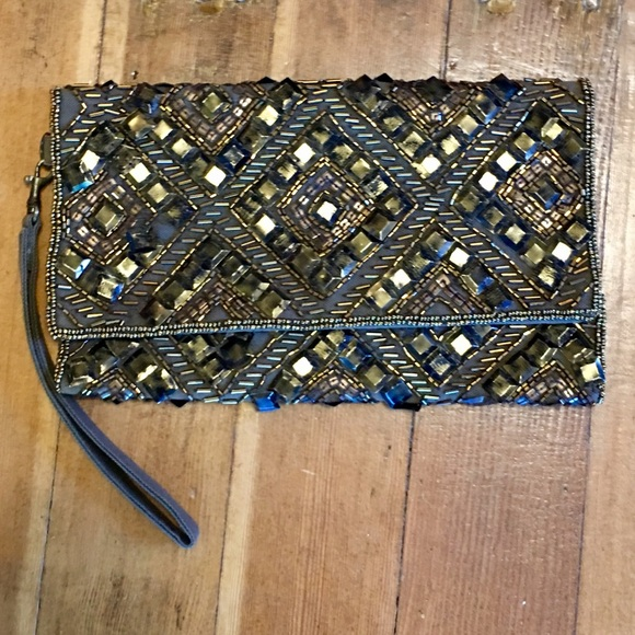 Urban Outfitters Handbags - urban outfitters clutch/wristlet